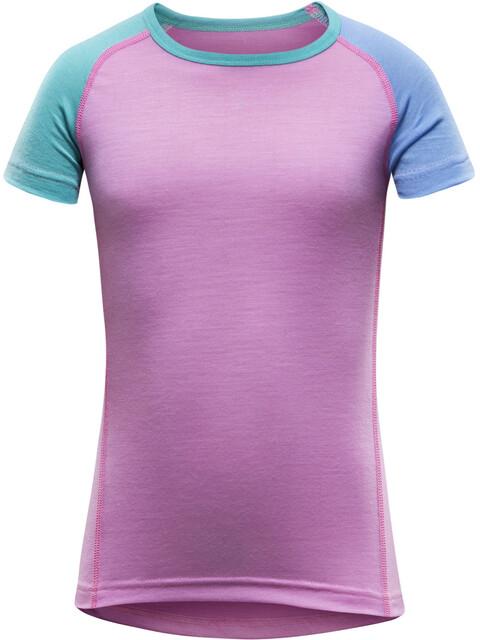 Devold Breeze T-Shirt Kids Peony